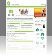 A snapshot of Greater Toronto Home Builder Alliance (GTHBA) website