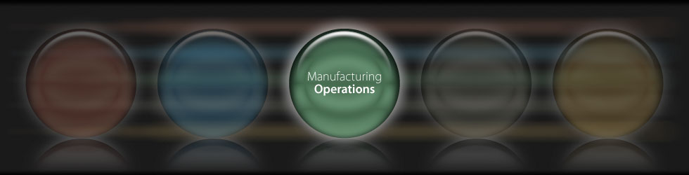 Manufacturing & Operations Banner