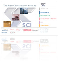 A snapshot of Steel Construction Institute (SCI) website